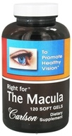 Carlson Labs - Right for The Macula - 120 Softgels, from category: Nutritional Supplements