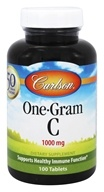 Carlson Labs - One-Gram C Vitamin C 1000 mg. - 100 Tablets