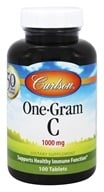 Carlson Labs - One-Gram C Vitamin C 1000 mg. - 100 Tablets by Carlson Labs