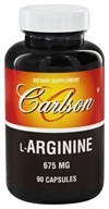 Carlson Labs - L-Arginine 675 mg. - 90 Capsules, from category: Nutritional Supplements