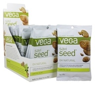 Vega - SaviSeed Oh Natural Inca Peanuts - 12 x 1 oz. (28g) Snack Packs (838766030081)