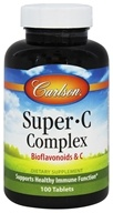 Carlson Labs - Super-C-Complex Bioflavonoids and C - 100 Tablets (088395032516)