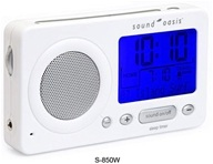 Sound Oasis - Sound Therapy System Travel S-850W White