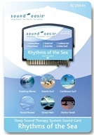 Sound Oasis - Sound Card Rhythms of the Sea SC-250-01, from category: Health Aids