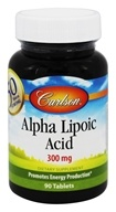 Carlson Labs - Alpha Lipoic 300 mg. - 90 Tablets (088395080715)