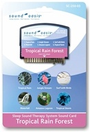 Sound Oasis - Sound Card Tropical Rain Forest SC-250-03, from category: Health Aids