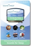 Sound Oasis - Sound Card Sounds for Sleep SC-250-04, from category: Health Aids