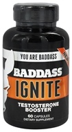 Baddass Nutrition - Ignite Testosterone Booster - 60 Capsules CLEARANCE PRICED - $24.99