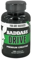 Baddass Nutrition - Drive Premium Creatine - 120 Capsules CLEARANCE PRICED - $9.99