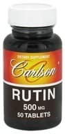 Carlson Labs - Rutin 500 mg. - 50 Tablets - $8.51
