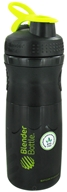 Blender Bottle - SportMixer Tritan Grip Black/Green - 28 oz. By Sundesa