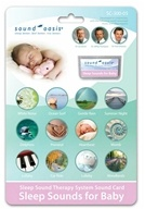 Sound Oasis - Sound Card Sleep Sounds For Baby SC-300-05, from category: Health Aids