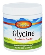 Carlson Labs - Glycine Amino Acid Powder 2300 mg. - 100 Grams