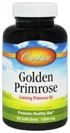 Carlson Labs - Golden Primrose Evening Primrose Oil 1300 mg. - 50 Softgels, from category: Nutritional Supplements