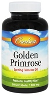 Carlson Labs - Golden Primrose Evening Primrose Oil 1300 mg. - 50 Softgels - $12.34