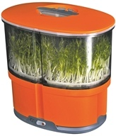 iPlant - Sprout Garden With Starter Seeds Orange