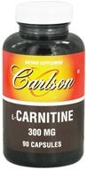 Image of Carlson Labs - L-Carnitine 300 mg. - 90 Capsules OVERSTOCKED