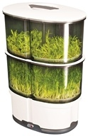 Image of iPlant - 2 Level Sprout Garden White
