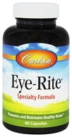 Carlson Labs - Eye-Rite Eye Formula - 60 Capsules, from category: Nutritional Supplements