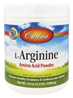 Carlson Labs - L-Arginine Amino Acid Powder 3000 mg. - 1000 Grams (088395067365)
