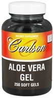 Image of Carlson Labs - Aloe Vera Gel 25 mg. - 250 Softgels