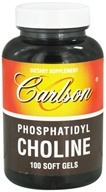 Image of Carlson Labs - Phosphatidyl Choline - 100 Softgels
