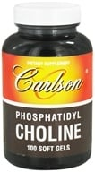 Carlson Labs - Phosphatidyl Choline - 100 Softgels (088395087615)