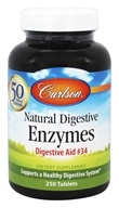 Carlson Labs - Natural Digestive Enzymes Digestive Aid #34 - 250 Tablets