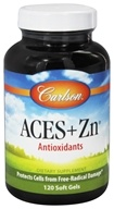 Carlson Labs - ACES + Zn Vitamins A, C, E plus Selenium and Zinc - 120 Softgels