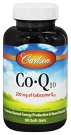 Image of Carlson Labs - Co-Q10 200 mg. - 90 Softgels