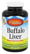 Image of Carlson Labs - Buffalo Liver 500 mg. - 180 Capsules