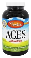 Image of Carlson Labs - ACES Vitamins A, C, E plus Selenium - 200 Softgels