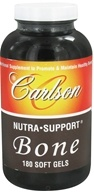 Carlson Labs - Nutra Support Bone - 180 Softgels (088395046124)