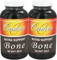 Carlson Labs - Nutra Support Bone - Twin Pack 180+180 Softgels