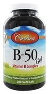 Carlson Labs - B-50 Gel Vitamin B Complex - 200 Softgels, from category: Vitamins & Minerals