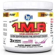 BPI Sports - 1 M.R Ultra Concentrated Pre-Workout Powder - 28 Servings Pink Lemonade - 140 Grams - $28.89
