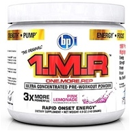 BPI Sports - 1 M.R Ultra Concentrated Pre-Workout Powder - 28 Servings Pink Lemonade - 140 Grams