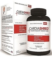 Heuer MD Research - CardiaShred Heart Healthy Weight Loss - 120 Caplets, from category: Diet & Weight Loss