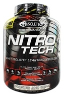 Muscletech Products - Nitro Tech Performance Series Whey Isolate Cookies and Cream - 4 lbs. by Muscletech Products