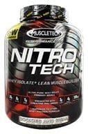 Muscletech Products - Nitro Tech Performance Series Whey Isolate Cookies and Cream - 4 lbs. - $58.99