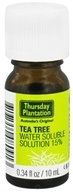 Thursday Plantation - Tea Tree Oil Water Soluble Solution 15% - 0.34 oz. - $5.49