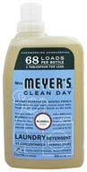 Mrs. Meyer's - Clean Day Laundry Detergent Bluebell - 34 oz. (808124174801)