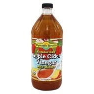 Dynamic Health - Organic Apple Cider Vinegar with Mother - 32 fl. oz.