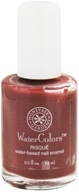 Image of Honeybee Gardens - Watercolors Water Based Nail Enamel Risque - 0.5 oz.