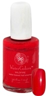 Image of Honeybee Gardens - Watercolors Water Based Nail Enamel Wildfire - 0.5 oz.
