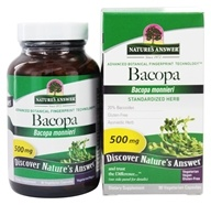 Image of Nature's Answer - Standardized Bacopa 500 mg. - 90 Vegetarian Capsules