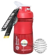 Blender Bottle - SportMixer Tritan Grip Red/White - 20 oz. By Sundesa by Blender Bottle