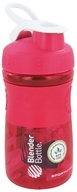 Image of Blender Bottle - SportMixer Tritan Grip Pink/White - 20 oz. By Sundesa