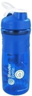 Image of Blender Bottle - SportMixer Tritan Grip Blue/White - 28 oz. By Sundesa
