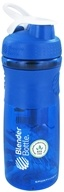Blender Bottle - SportMixer Tritan Grip Blue/White - 28 oz. By Sundesa - $14.99